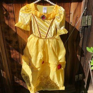 Disney belle dress kids